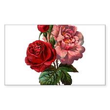 Vintage Rose Stickers