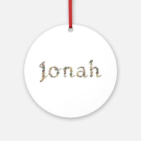 Jonah Seashells Round Ornament