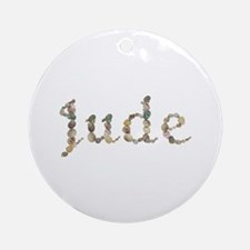 Jude Seashells Round Ornament