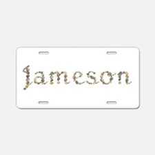 Jameson Seashells Aluminum License Plate