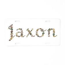 Jaxon Seashells Aluminum License Plate