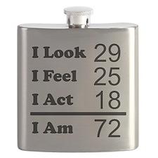 I Am 72 Flask