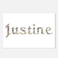Justine Seashells Postcards 8 Pack