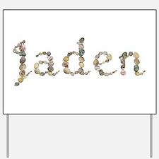 Jaden Seashells Yard Sign