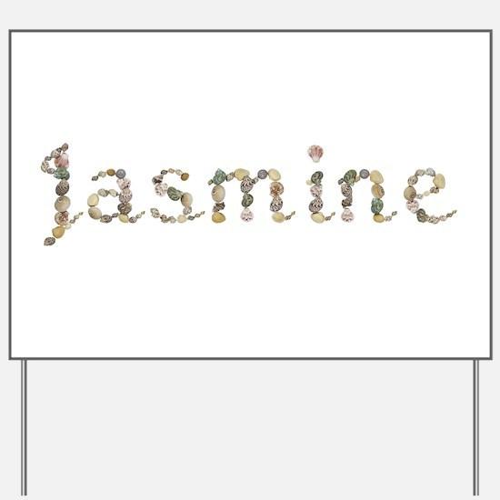 Jasmine Seashells Yard Sign