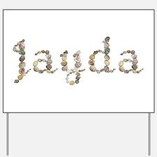 Jayda Seashells Yard Sign