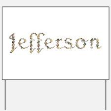 Jefferson Seashells Yard Sign