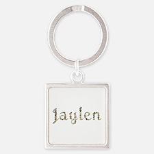 Jaylen Seashells Square Keychain