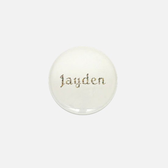 Jayden Seashells Mini Button