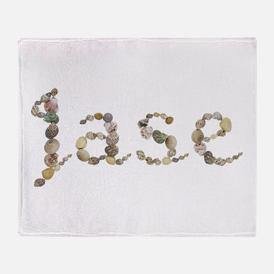 Jase Seashells Throw Blanket