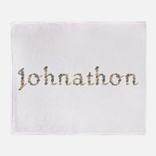 Johnathon Seashells Throw Blanket