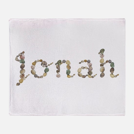 Jonah Seashells Throw Blanket