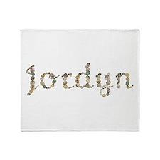 Jordyn Seashells Throw Blanket