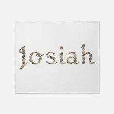Josiah Seashells Throw Blanket