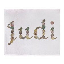 Judi Seashells Throw Blanket