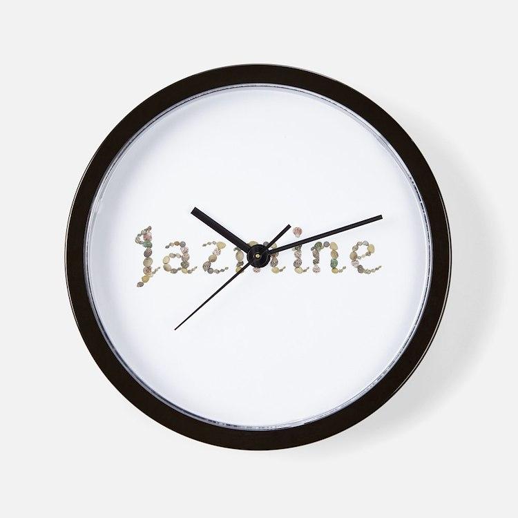 Jazmine Seashells Wall Clock