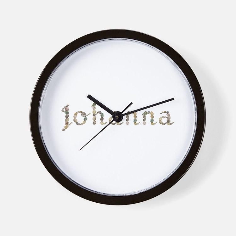 Johanna Seashells Wall Clock