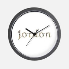 Jordon Seashells Wall Clock
