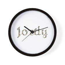 Jordy Seashells Wall Clock