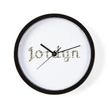 Jordyn Seashells Wall Clock