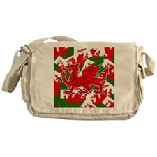 Welsh Dragon - Draig Messenger Bag