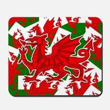 Welsh Dragon - Draig Mousepad