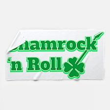 Shamrock 'n Roll Beach Towel