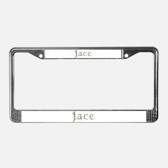 Jace Seashells License Plate Frame
