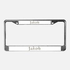 Jakob Seashells License Plate Frame