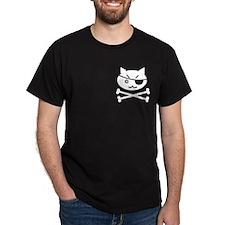 PIRATE CAT (BLK) T-Shirt