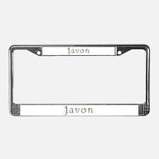 Javon Seashells License Plate Frame