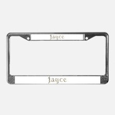 Jayce Seashells License Plate Frame