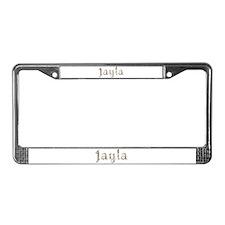 Jayla Seashells License Plate Frame