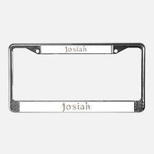 Josiah Seashells License Plate Frame