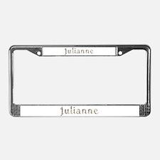 Julianne Seashells License Plate Frame