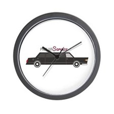 Pick Up Service Wall Clock