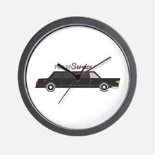 Pick Up Service Wall Clock