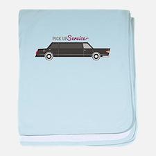 Pick Up Service baby blanket