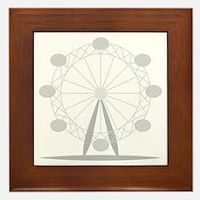 Ferris wheel Framed Tile