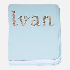 Ivan Seashells baby blanket