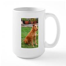 irish terrier sitting Mugs