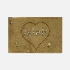 Isiah Beach Love Rectangle Magnet