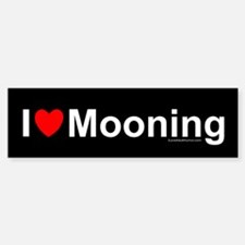 Mooning Bumper Bumper Sticker