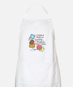PHD IN QUILTING Apron