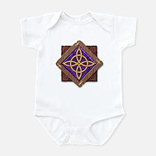 3-D Witches Knot Infant Bodysuit
