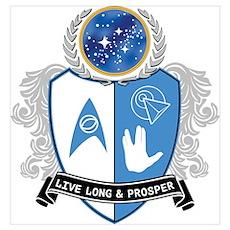 Spock's Crest Poster