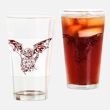 Cat-thulhu var Drinking Glass