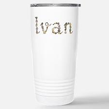 Ivan Seashells Ceramic Travel Mug