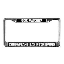 got water? Chesapeake Bay Rtvr License Plate Frame