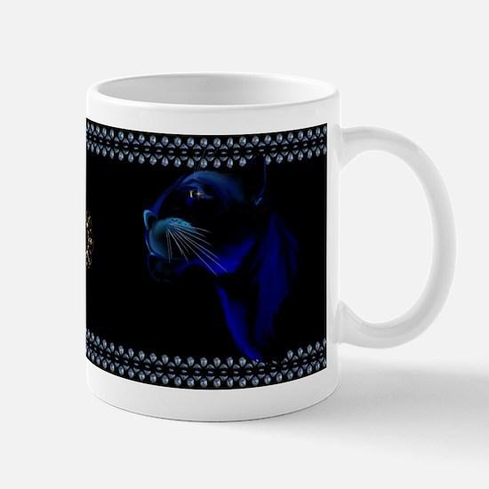 Black Panther Face Mug